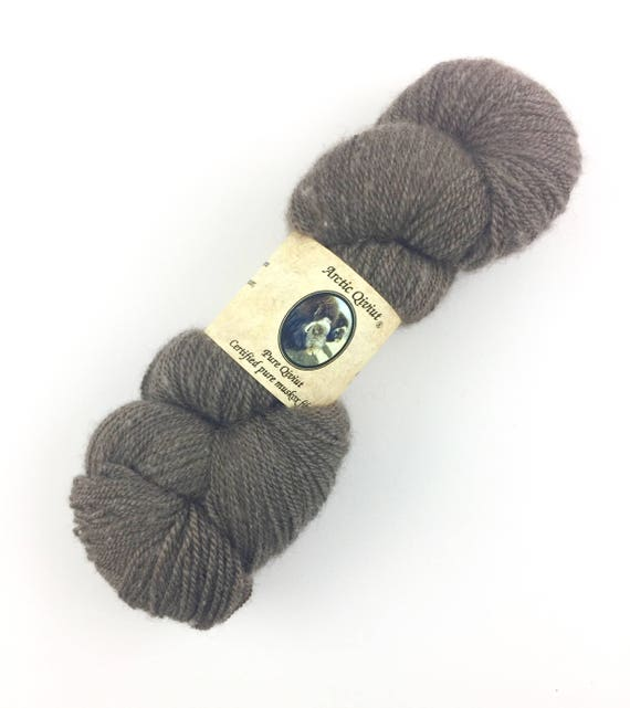 Qiviut Yarn 100% Pure Natural Lace Weight Arctic Qiviut