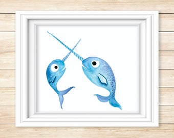 Illustrated Narwhals #1