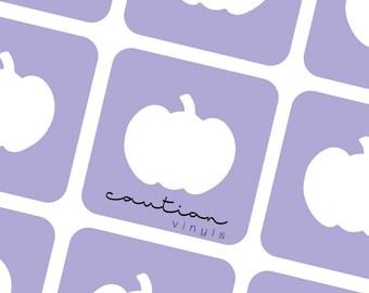 Pumpkins Nail Vinyl Stencils - Nail Vinyl for Nail Art