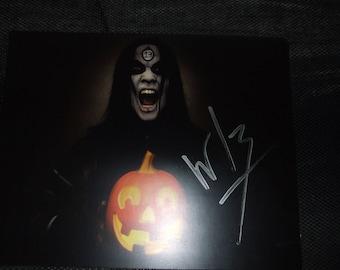 WEDNESDAY 13 signed autographed  Condolences tour 8x10 photo horror murderdolls concert