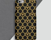 Manchester Honeycomb Phone Case  Bees  Charity  Personalised Phone Case  Iphone 6  Iphone 7  Phone Cover