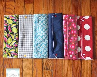 Travel Diaper Changing Pad // Handmade