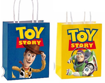 Toy Story Party Favor Bag ~ Toy Story Party Inspired Decorations & Decor instant download