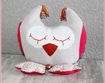 """""""Musical sleeper OWL"""" pillow to hang on bed or ask..."""