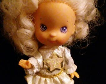 """Vintage 1980s MOON DREAMERS """"Bitsy"""" in Original Outfit!!!!Nice HTF Doll!!!"""