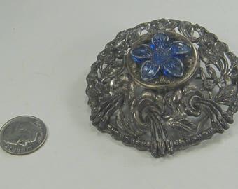 J-25 Vintage Brooch  Costume Jewelry