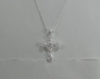 P-25  Vintage necklace sterling silver 925 choker