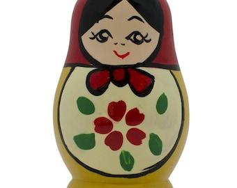 Wooden Russian Nesting Doll Fridge Magnet