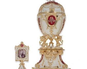 "1903 Royal Danish Faberge Egg 9.6"""