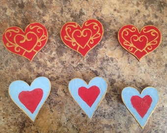Heart Container Pins