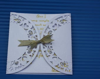 Lace wedding invitation lace for wedding