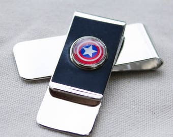 Captain America Money Clip