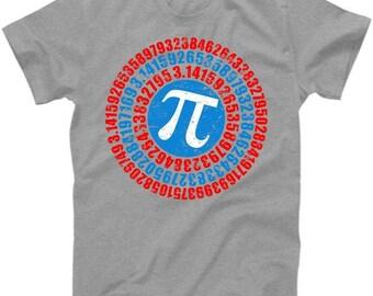 Captain Pi 3.14 Superhero Shield - T-Shirt