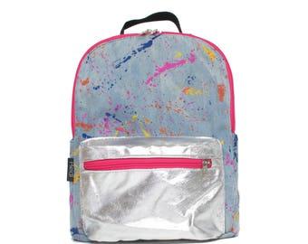 Splash Mix mini backpack, kids backpack, mini backpack, travel backpack