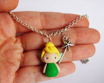 OUTLET! Sale! Simple bracelet Tink fimo with wand
