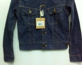 Women Fashion 109-JY Lee Denim Jacket Raides Small Size