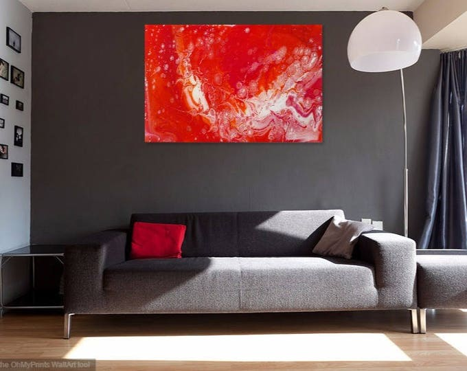 Acrylic and Resin Art - Digital Prints on Canvas and Paper