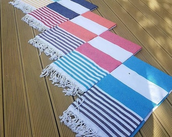 MARINE Beach Towels, 100% Turkish Cotton, Travel Towel, Gym Towel
