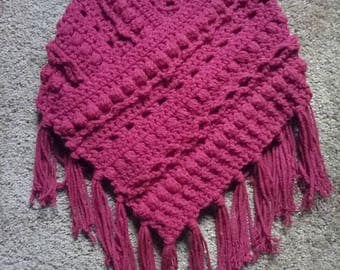 Girls Crochet Cowl