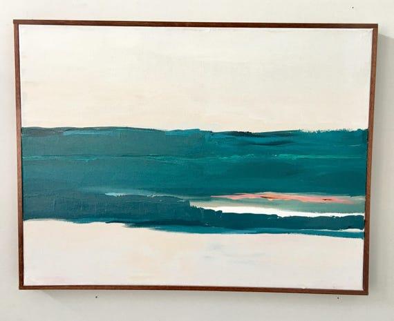 Abstract Original Painting - Monterey Bay