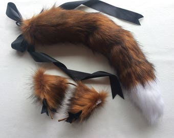 Red Fox Play Set Tail & Ears