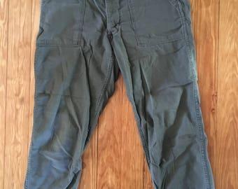 US Army Vietnam sateen pants
