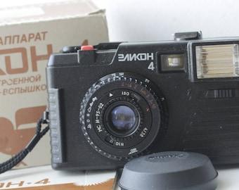 ELIKON 4. Russian 35mm Film Camera BeLomo