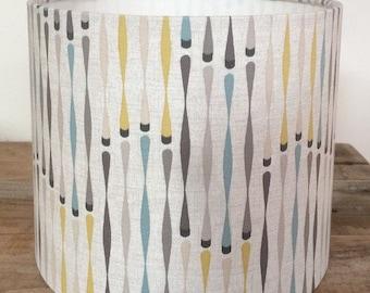 Contemporary Drum lampshade, Handmade 20cm, 30cm, 40cm
