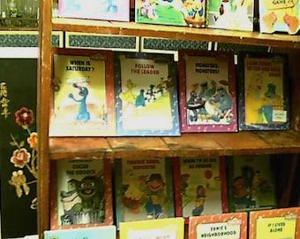 Vintage Sesame Street Jim Henson Hardbacks Books 70s 80s 90s Lot 16