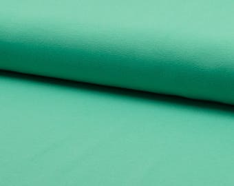 0, 5m Jersey uni mint light turquoise smooth elastic