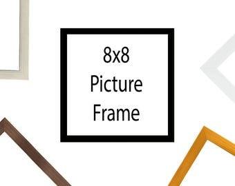 8x8 Frame Etsy