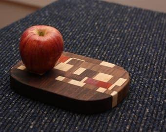 Hardwood Butcher Block Cutting Board: Walnut, Maple, Purple Heart, and Paudouk FREE SHIPPING