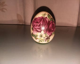 Purple Roses Paperweight