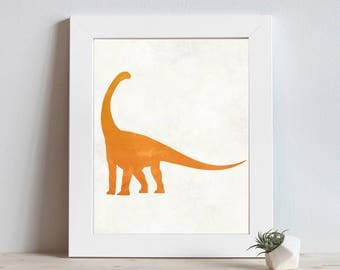 Dinosaur Print - Dinosaur Decor - Dinosaur Nursery - Dinosaur Wall Art - Dinosaur Nursery Art - Nursery Decor - Baby Boy Nursery - Dino Art