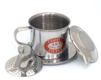 NEW Vietnam Vietnamese Ca Phe Phin STAINLESS Coffee Filter NO. 7