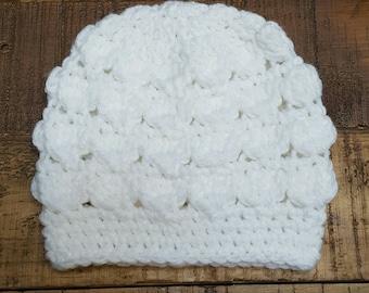 Crochet Beanie - Baby Beanie - Baby Hat - Crochet Baby Hat - Boy or Girl