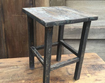 Small Primitive Wood Stand