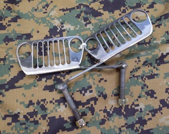 Jeep Grill Foot Pegs
