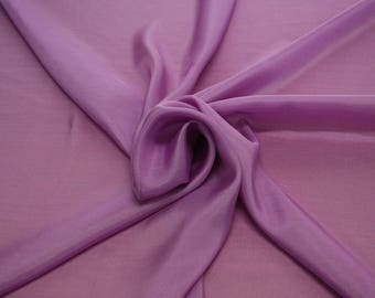 402207-taffeta natural silk 100%, width 110 cm, made in India, can be used liner, dry wash, weight 58 gr