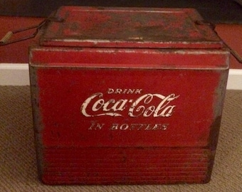 Coca Cola Progress Refrigerator Company Cooler