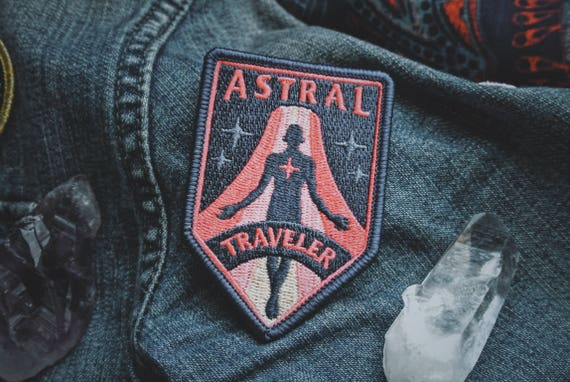 Astral Traveler Patch - Metaphysical Fashion Accessory - 3