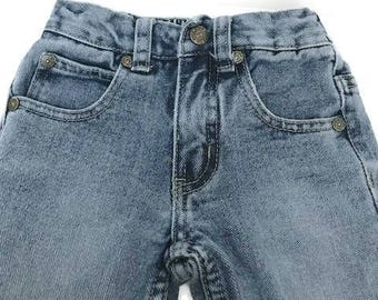 Toddler Duck Head Jeans Distressed and Blue Wash Jeans Size 2T