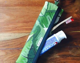 READY to ship / toothbrush and toothpaste holder / travel case / travel case / toothbrush box kit / box waterproof / unisex / utensil case