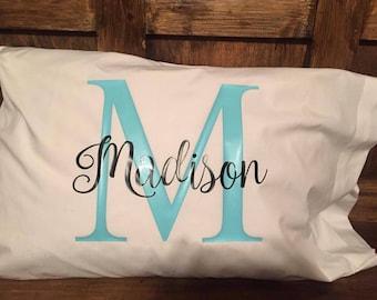 Personalized pillowcase standard size