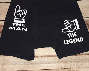 the man the legend boxers valentines gift for him valentines boxer briefs 2nd - Valentines Boxer Briefs