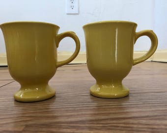 Vintage Anchor  Hocking China Tea Cups