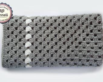 Crochet Baby Blanket/ Cotton Baby Blanket/ Soft baby blanket/ Crochet Baby Blanket/ Cotton blanket/ Cotton crochet blanket
