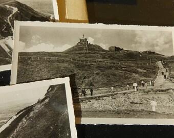 "Mini vintage postcards tourist - ""Oregon"" - black and white vintage photography"