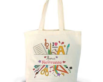 Thank you teacher tote bag