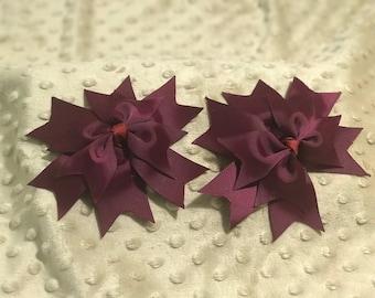 Spike Hair Bow's
